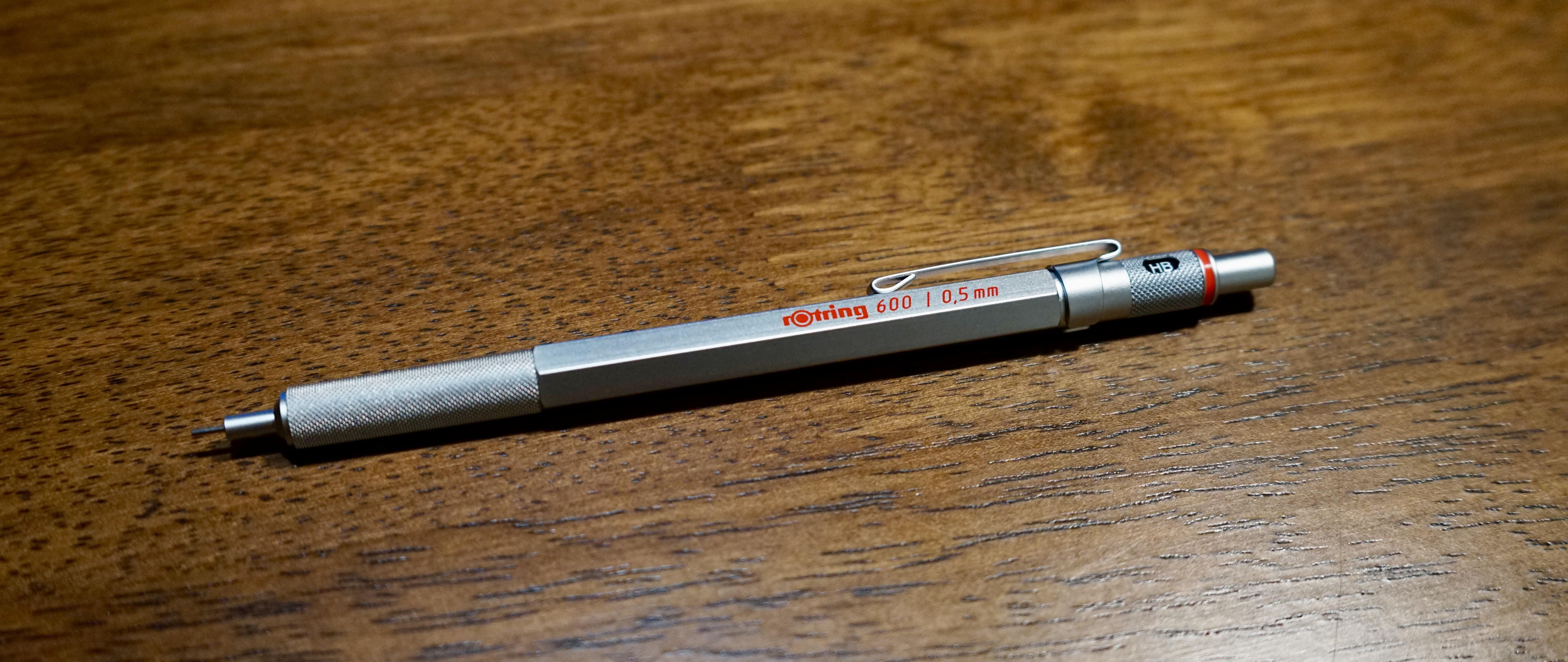 精致即为正义—rOtring 红环 600 自动铅笔上手