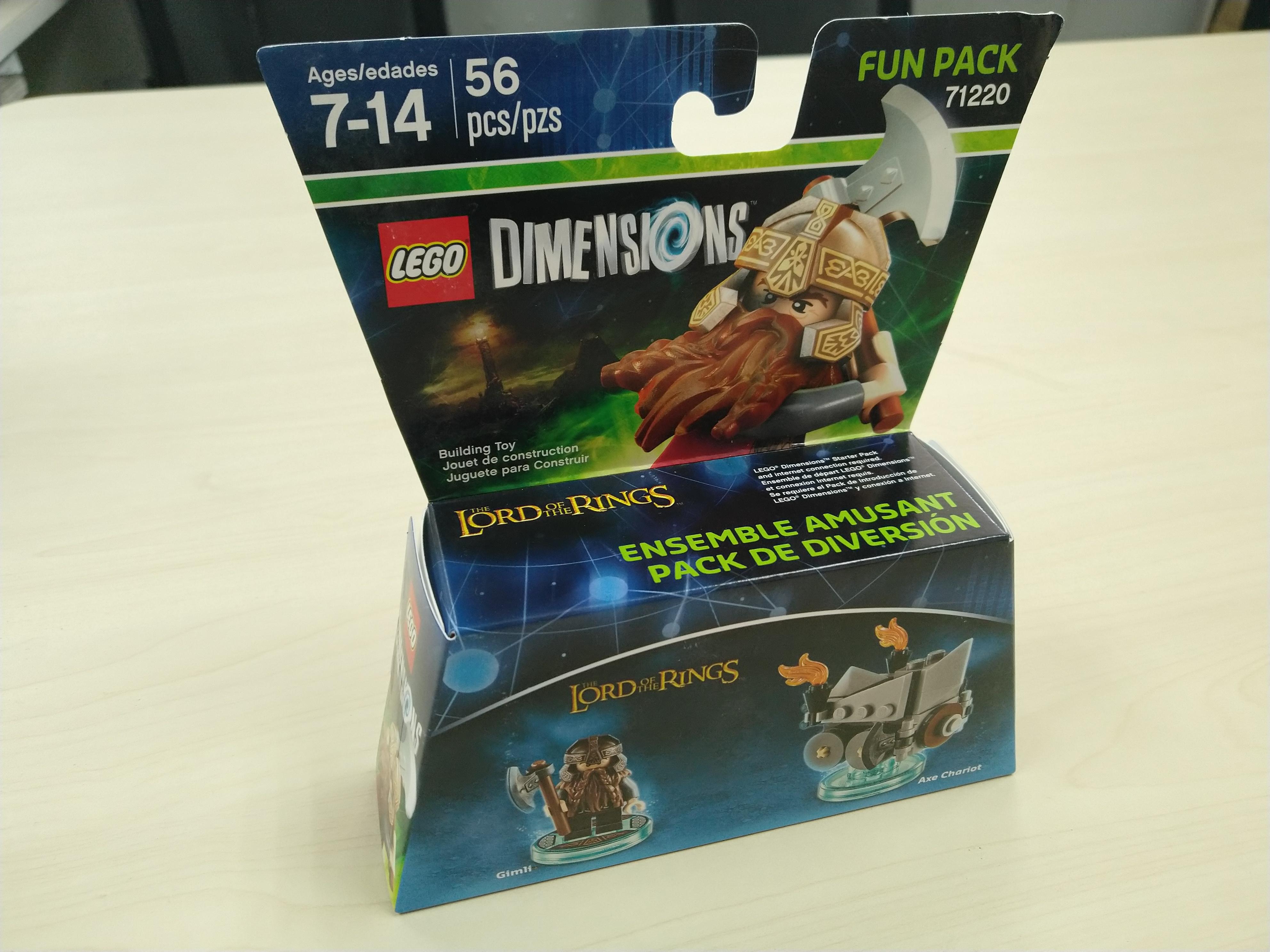 弥补童年缺少的遗憾 篇十三:LEGO 乐高 71220 次元系列 开箱