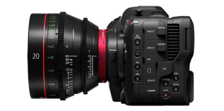 佳能发布EOS C70,首款RF卡口4K摄影机