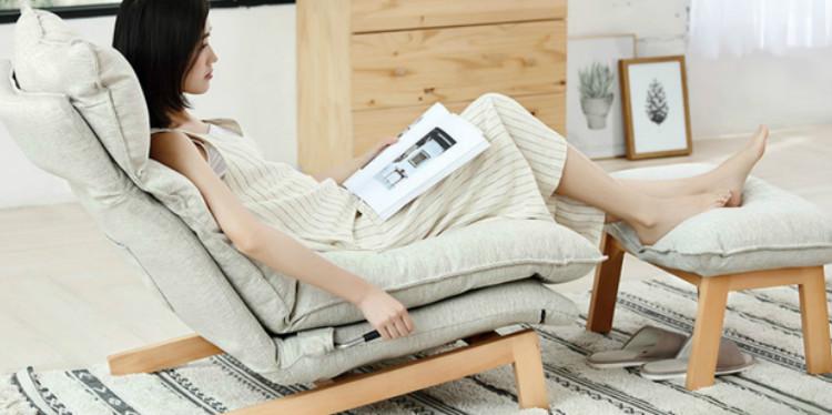 小米有品上新8H可调节休闲沙发