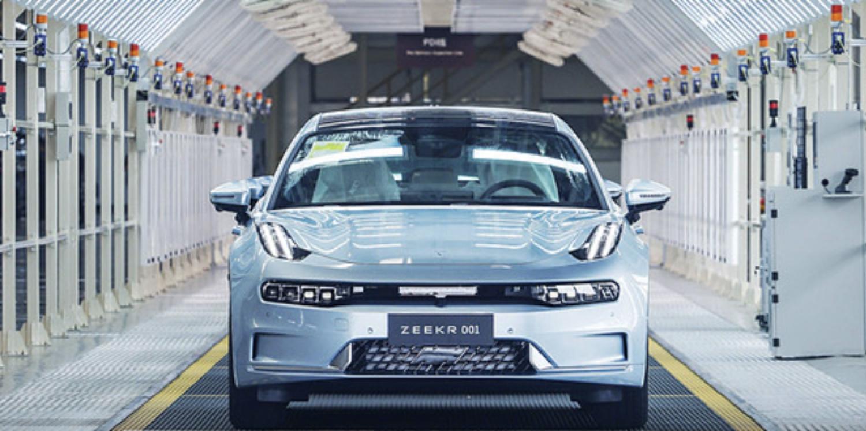 极氪001量产车下线,10月23日交付首批用户